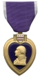 Awarded The Purple Heart