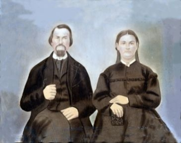 Joseph Quincy & Louisa  (Barger)  Adcock