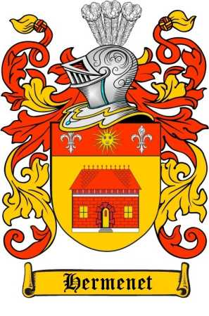 Kiser Coat Of Arms. Hermenet Family Coat of Arms