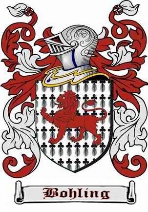 Bohling Family Coat of Arms