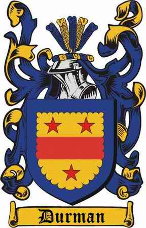 Durman Family Coat of Arms