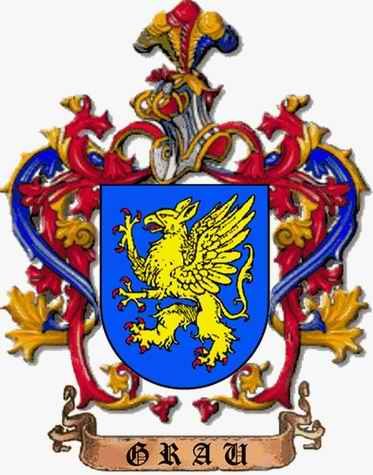 Grau Family Coat of Arms