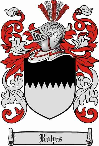 Rohrs Family Coat of Arms
